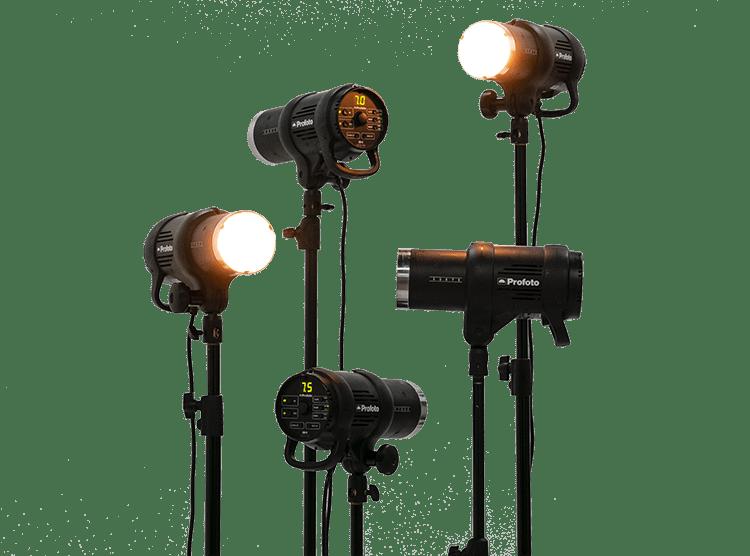 kits iluminación estudio